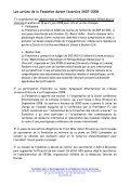RAPPORT DE GESTION 2007 – 2008 - FDIME - Page 2