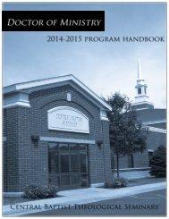 D.Min.-Handbook