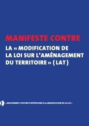 Manifeste contre - PDC du Valais romand