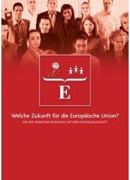 Welche Zukunft für die Europäische Union? - Socialists & Democrats