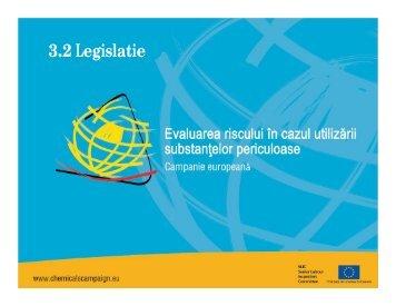 legislatie pentru evaluarea riscurilor in cazul ... - ITM Hunedoara