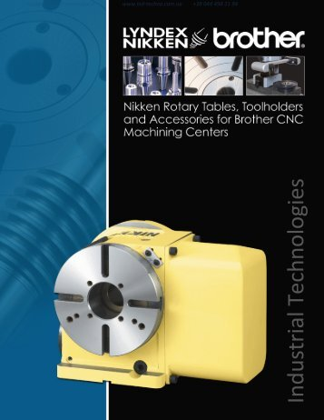 Nikken Rotary Table for Brother Machines Catalog - Industrial ...