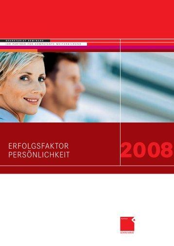 ERFOLGSFAKTOR PERSÖNLICHKEIT - OFFICE SEMINARE