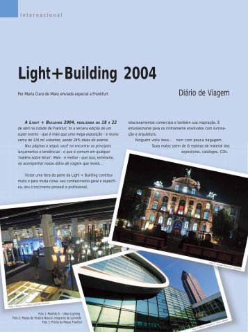 Light+Building 2004 - Lume Arquitetura
