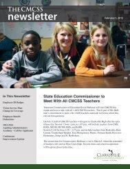 newsletter - Clarksville-Montgomery County Schools