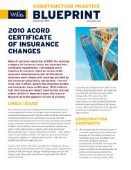 Evidence of Commercial Property Insurance ACORD 028 V02