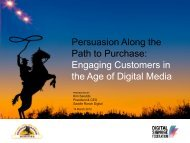 Persuasion Along the Path to Purchase - Digital Signage Federation