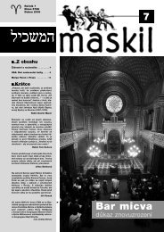 č.7 - Maskil