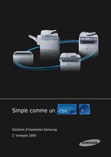 doc gamme Printer OA (Janvier09) PLAT