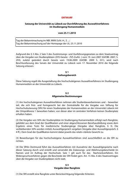 Uni Lubeck Mystipendium