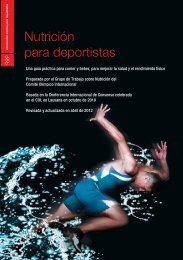 Nutrición para deportistas - Coca-Cola