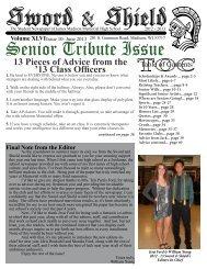 June 2013 - Memorial High School