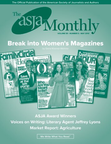 May 2010 - The ASJA Monthly