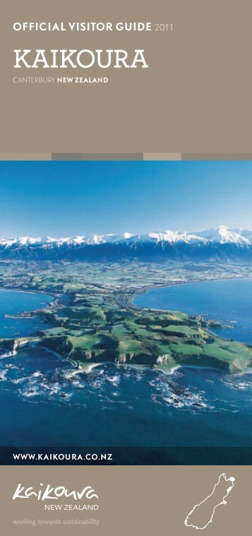 OFFICIAL VISITOR GUIDE 2011 - Kaikoura