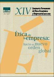 Ética de la empresa : hacia un nuevo orden global - Fundación Étnor