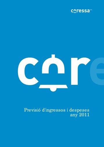 Previsió d'ingressos i despeses any 2011 - Ajuntament de Sant Boi ...