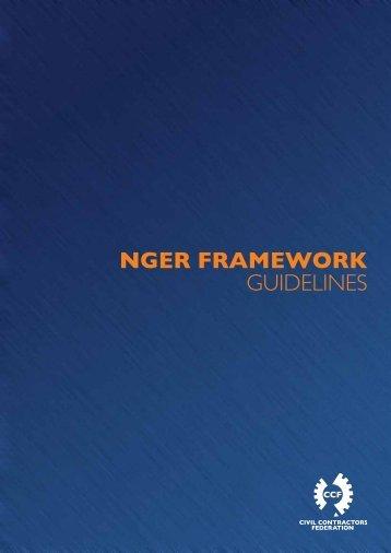 NGER Framework Guidelines (2011) - Civil Contractors Federation