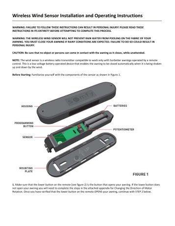somfy motor installation instructions