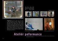 atelier performance
