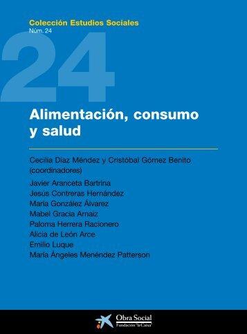 """Alimentación, consumo y salud - Obra Social """"la Caixa"""""""