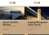 Imaging Management Junior Course Annual Scientific ... - MIR-Online