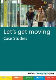 Let's get moving - the TravelWise Merseyside website