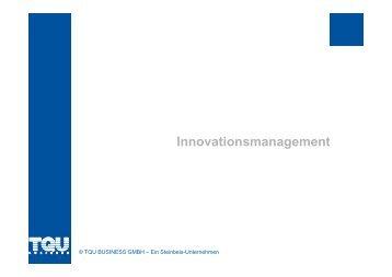 Innovationsmanagement Innovationsmanagement - Tqu-group.com