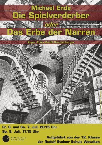 Die Spielverderber Das Erbe der Narren - Rudolf Steiner Schule ...