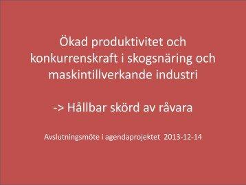 Magnus Thor - Skogforsk