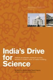 Particle accelerator research is a key element in India's vision of ...
