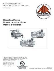 Operating Manual Manual de instrucciones Manuel d'utilisation