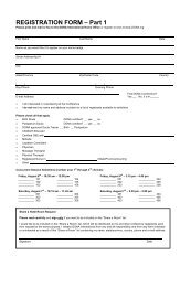 Downloadable Registration Forms - DONA International