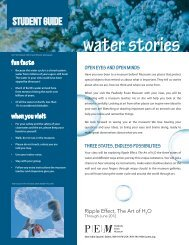 Download Water Stories Teacher Packet - Peabody Essex Museum