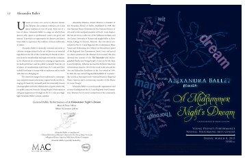 A Midsummer Night's Dream - Alexandra Ballet