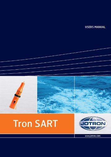 Users Manual Tron SART.pdf - Jotron