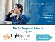 Mobile Response Adverts - Mobile Marketing Association