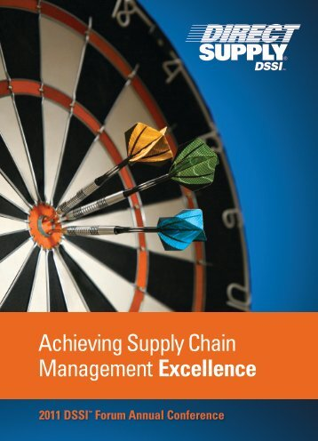 Achieving Supply Chain Management Excellence - Direct Supply