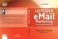 Leitfaden eMail Marketing und Newsletter-Gestaltung - Absolit