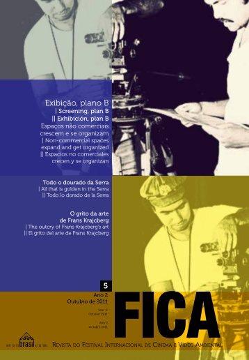 Revista do Festival, 5ºedição - Fica