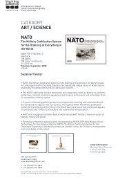 CATEGORY ART / SCIENCE NATO - Black Dog Publishing
