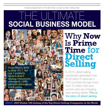 WhyNow Is Prime Time for - Direct Selling News