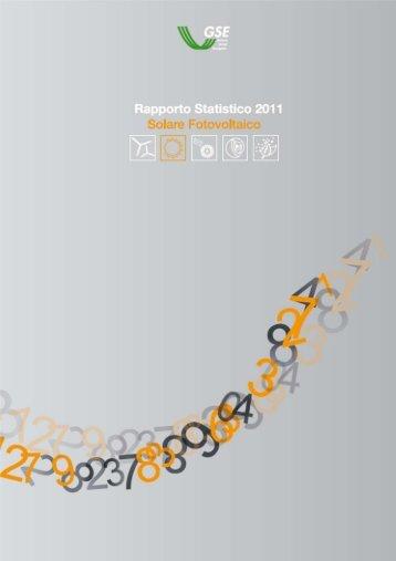 GSE Rapporto Statistico 2011 - Corrente