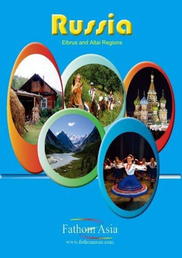 PDF brochure with many fabulous tours to Siberia and ... - FathomAsia
