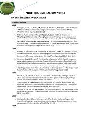 Publication(s) - UPM - Universiti Putra Malaysia
