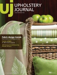 Upholstery Journal, August September 2009, Digital Edition