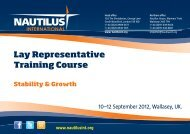 Laytraining - Nautilus International