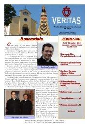Veritas 73, novembre 2010 - Fraternità Sacerdotale di San Pio X