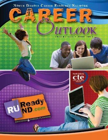 2010-2011 Career Outlook - State of North Dakota
