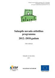 Salaspils novada attīstības programma 2012.-2018.gadam - Rīgas ...
