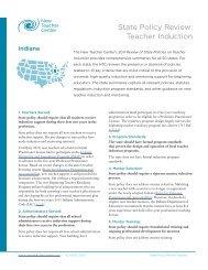 Indiana - New Teacher Center